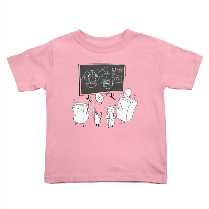 Let's Bake a Cake! Kids Toddler T-Shirt by Robbie Lee's Artist Shop