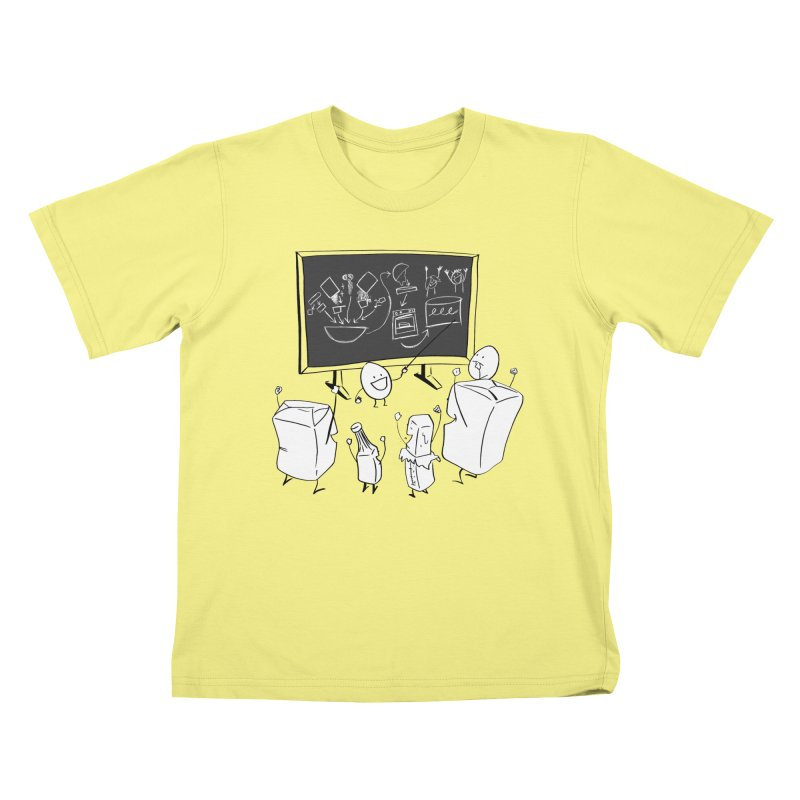 Let's Bake a Cake! Kids T-shirt by Robbie Lee's Artist Shop