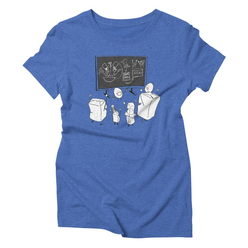 Let's Bake a Cake! Women's Triblend T-shirt by Robbie Lee's Artist Shop