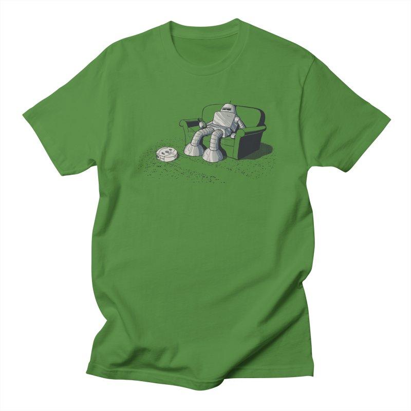 My Favorite Program Men's Regular T-Shirt by Robbie Lee's Artist Shop