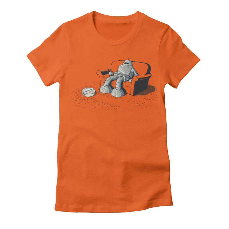 My Favorite Program Women's Fitted T-Shirt by Robbie Lee's Artist Shop