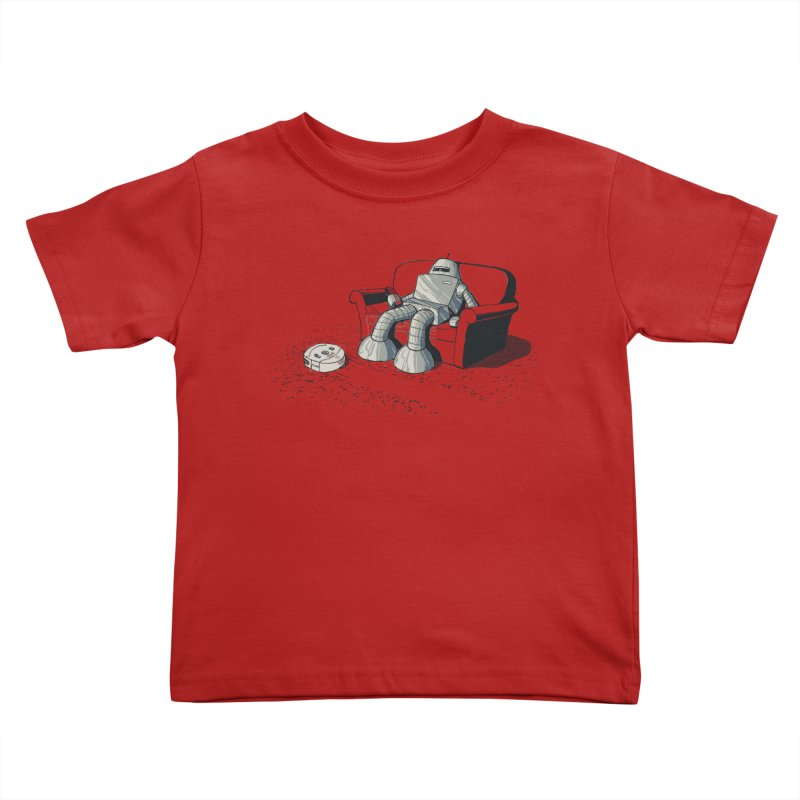 My Favorite Program Kids Toddler T-Shirt by Robbie Lee's Artist Shop