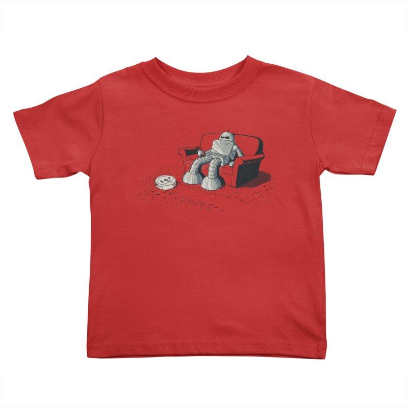My Favorite Program Kids Toddler T-Shirt by Robbie Lee's Artist Shop