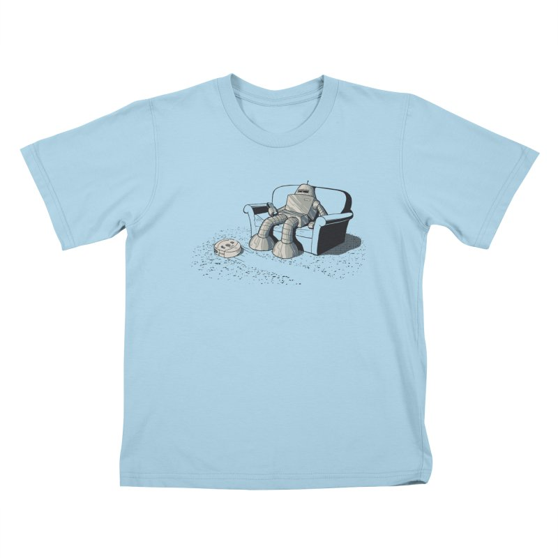 My Favorite Program Kids T-shirt by Robbie Lee's Artist Shop