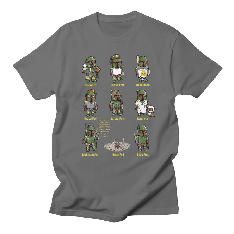 Lesser Known Intergalactic Bounty Hunters Men's T-shirt by Robbie Lee's Artist Shop
