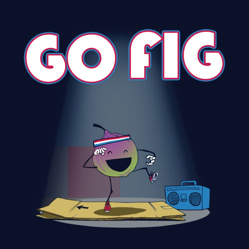 Go Fig Men's T-Shirt by Robbie Lee's Artist Shop