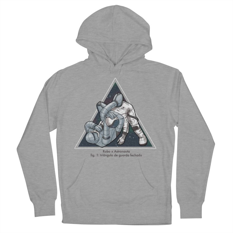 Robo x Astronauta Women's French Terry Pullover Hoody by Robbie Lee's Artist Shop