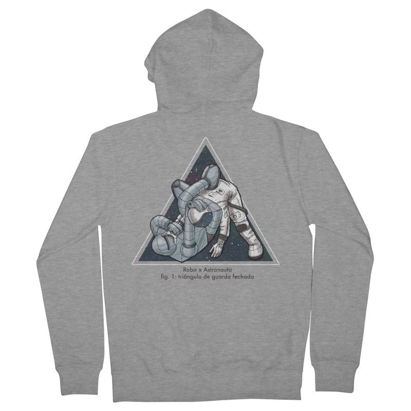 Robo x Astronauta Men's Zip-Up Hoody by Robbie Lee's Artist Shop