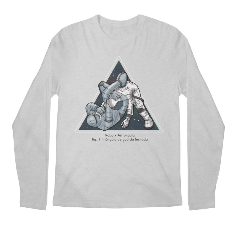Robo x Astronauta Men's Longsleeve T-Shirt by Robbie Lee's Artist Shop