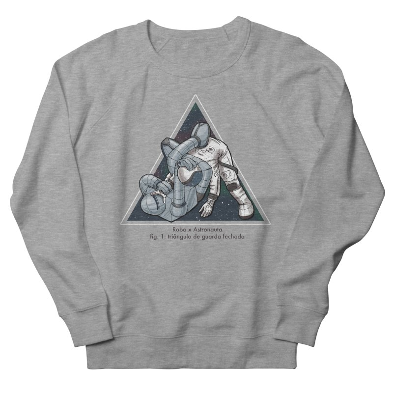 Robo x Astronauta Women's French Terry Sweatshirt by Robbie Lee's Artist Shop