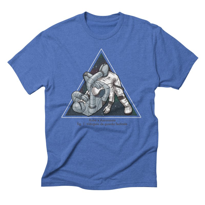 Robo x Astronauta Men's Triblend T-shirt by Robbie Lee's Artist Shop