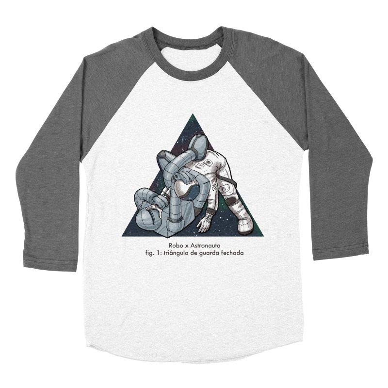 Robo x Astronauta Women's Baseball Triblend T-Shirt by Robbie Lee's Artist Shop