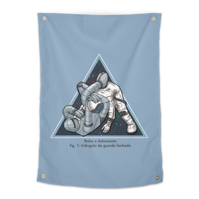 Robo x Astronauta Home Tapestry by Robbie Lee's Artist Shop