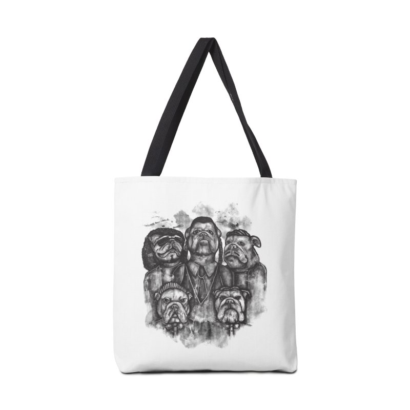 BULLDOGS AND HARMONY Accessories Bag by robbyiodized's Artist Shop
