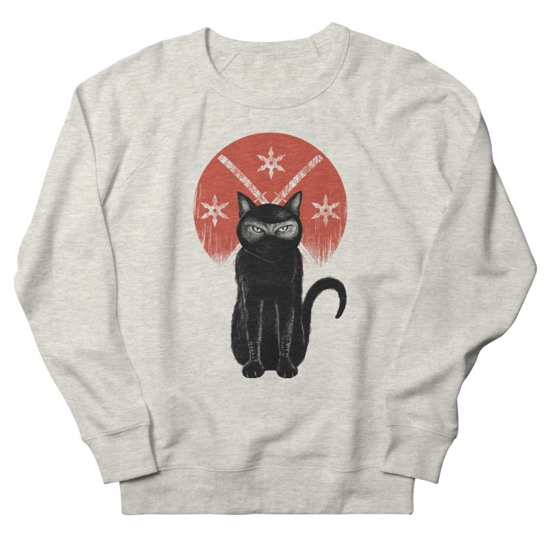 9 LIVES Women's Sweatshirt by robbyiodized's Artist Shop