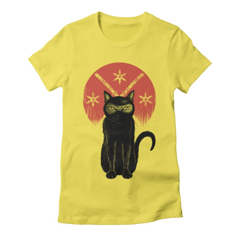 9 LIVES Women's T-Shirt by robbyiodized's Artist Shop