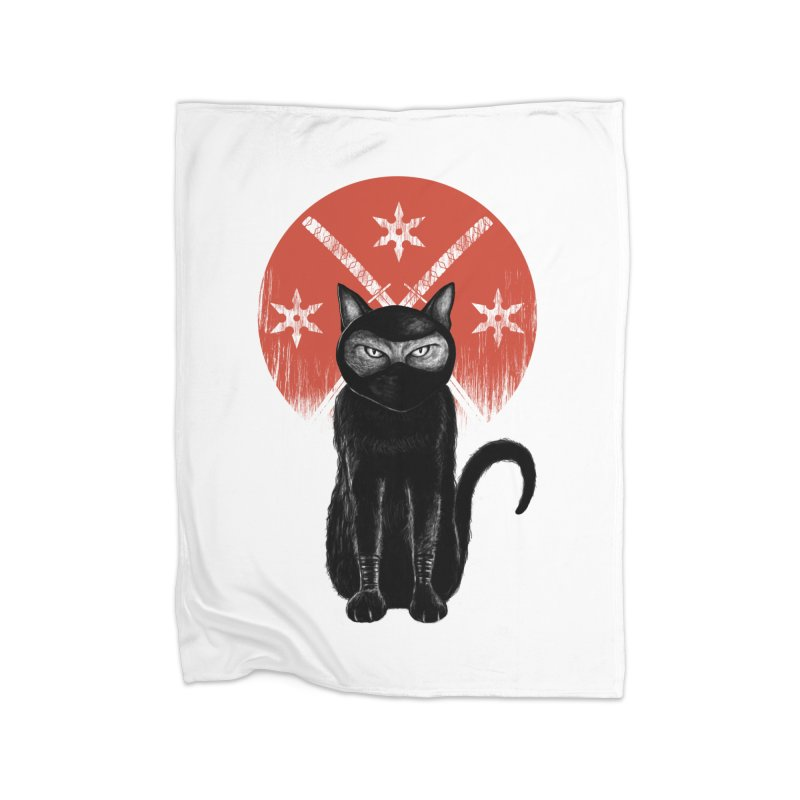 9 LIVES Home Blanket by robbyiodized's Artist Shop