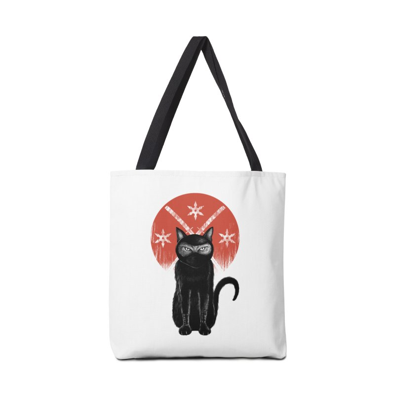 9 LIVES Accessories Bag by robbyiodized's Artist Shop