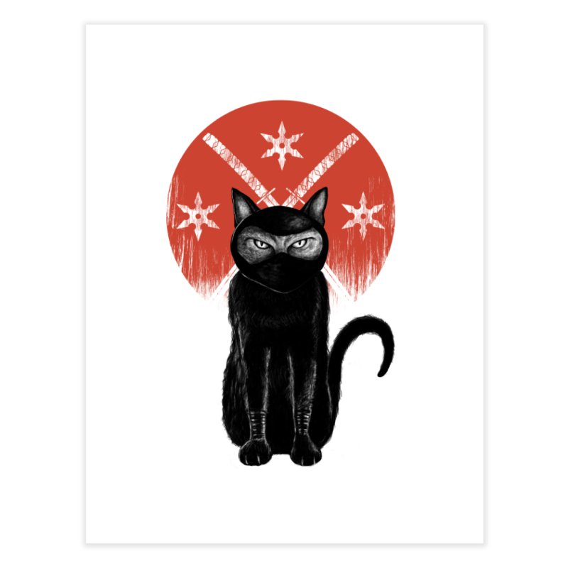 9 LIVES Home Fine Art Print by robbyiodized's Artist Shop