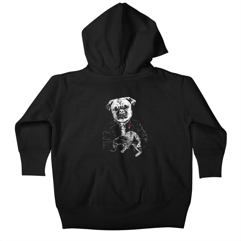 THE CAT FATHER Kids Baby Zip-Up Hoody by robbyiodized's Artist Shop
