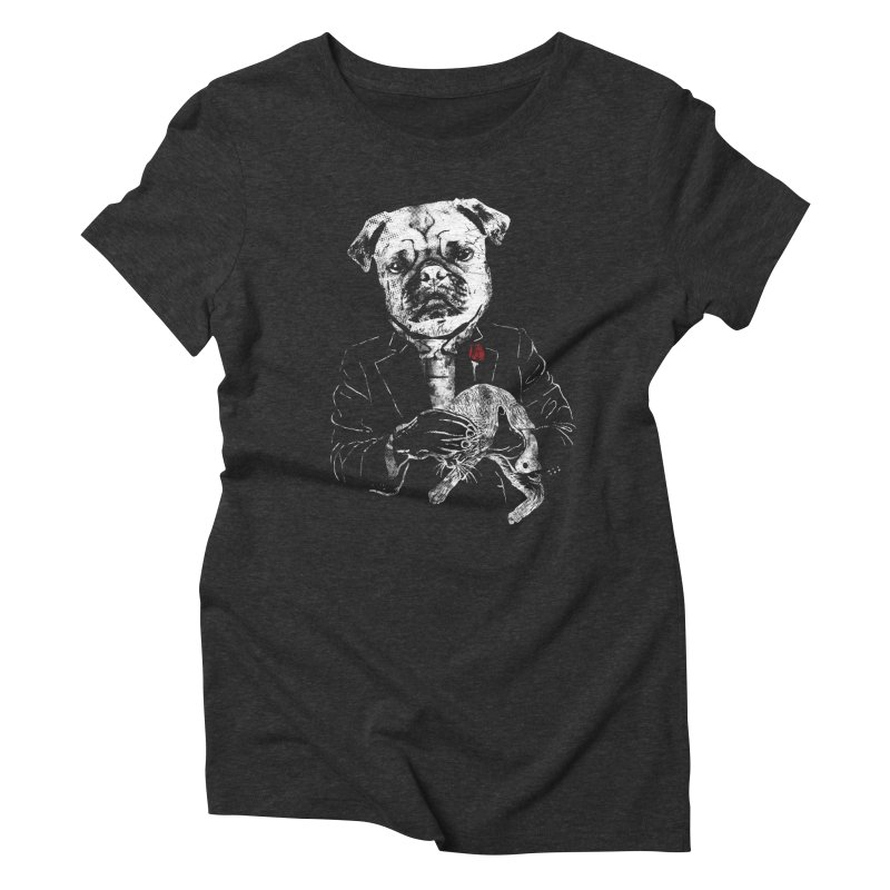 THE CAT FATHER Women's T-Shirt by robbyiodized's Artist Shop