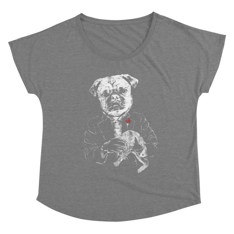 THE CAT FATHER Women's Scoop Neck by robbyiodized's Artist Shop