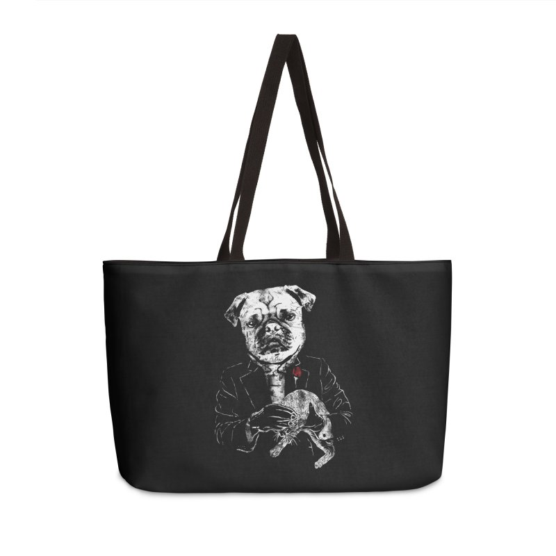 THE CAT FATHER Accessories Bag by robbyiodized's Artist Shop