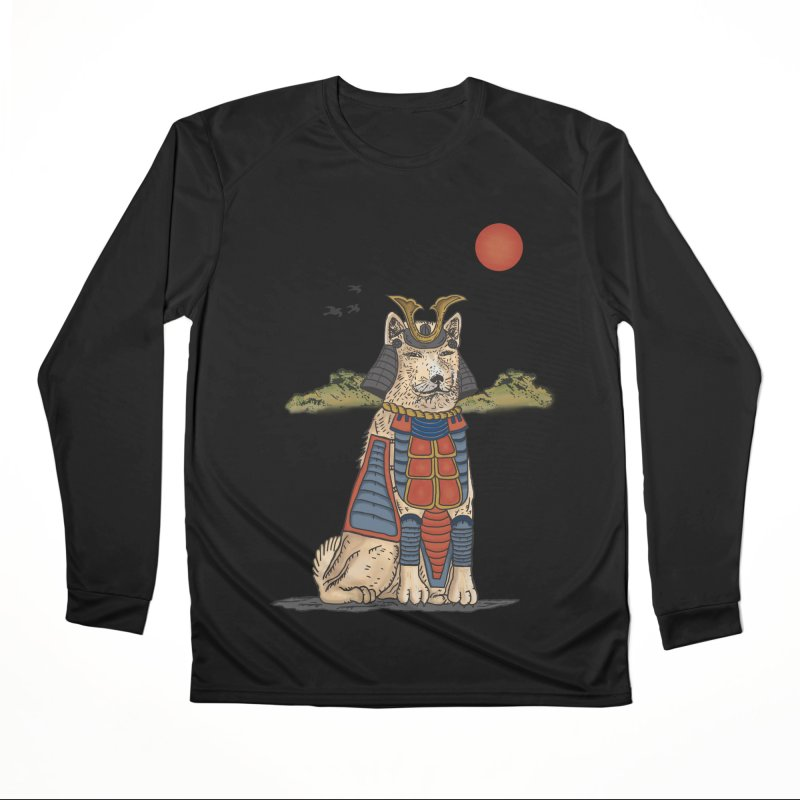 THE DOG WHO CANT BE MOVE Men's Longsleeve T-Shirt by robbyiodized's Artist Shop