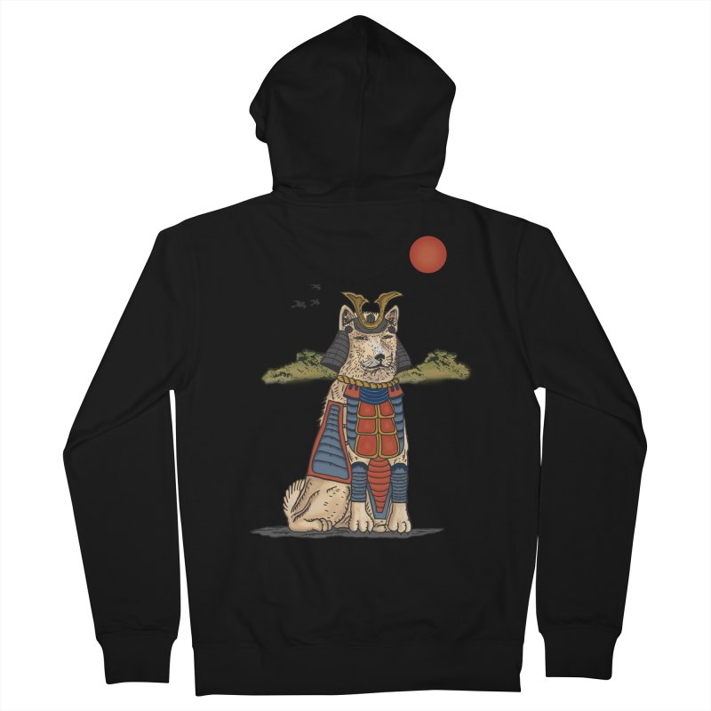 THE DOG WHO CANT BE MOVE Men's Zip-Up Hoody by robbyiodized's Artist Shop