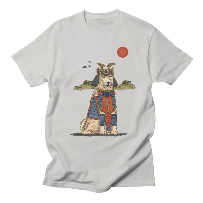 THE DOG WHO CANT BE MOVE Men's T-Shirt by robbyiodized's Artist Shop