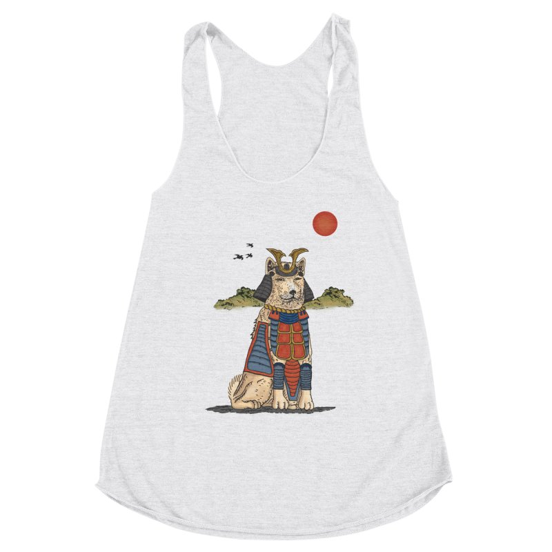 THE DOG WHO CANT BE MOVE Women's Tank by robbyiodized's Artist Shop