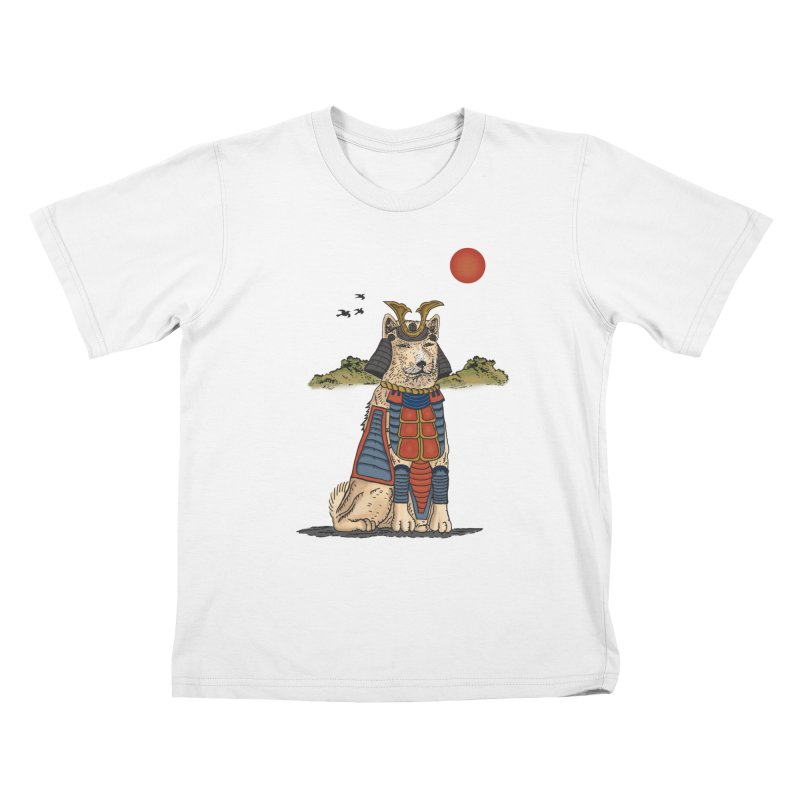 THE DOG WHO CANT BE MOVE Kids T-Shirt by robbyiodized's Artist Shop