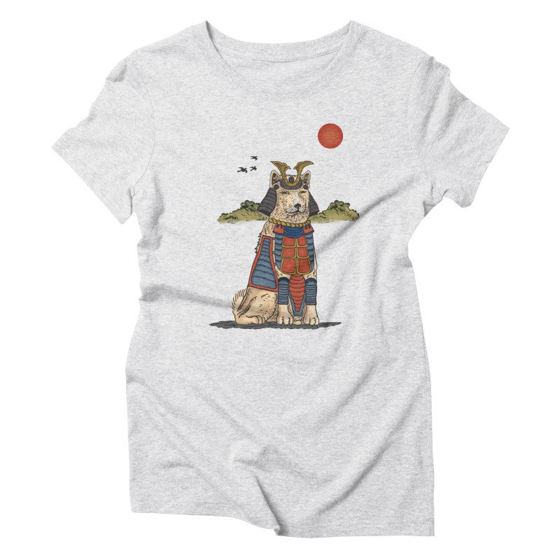 THE DOG WHO CANT BE MOVE Women's T-Shirt by robbyiodized's Artist Shop