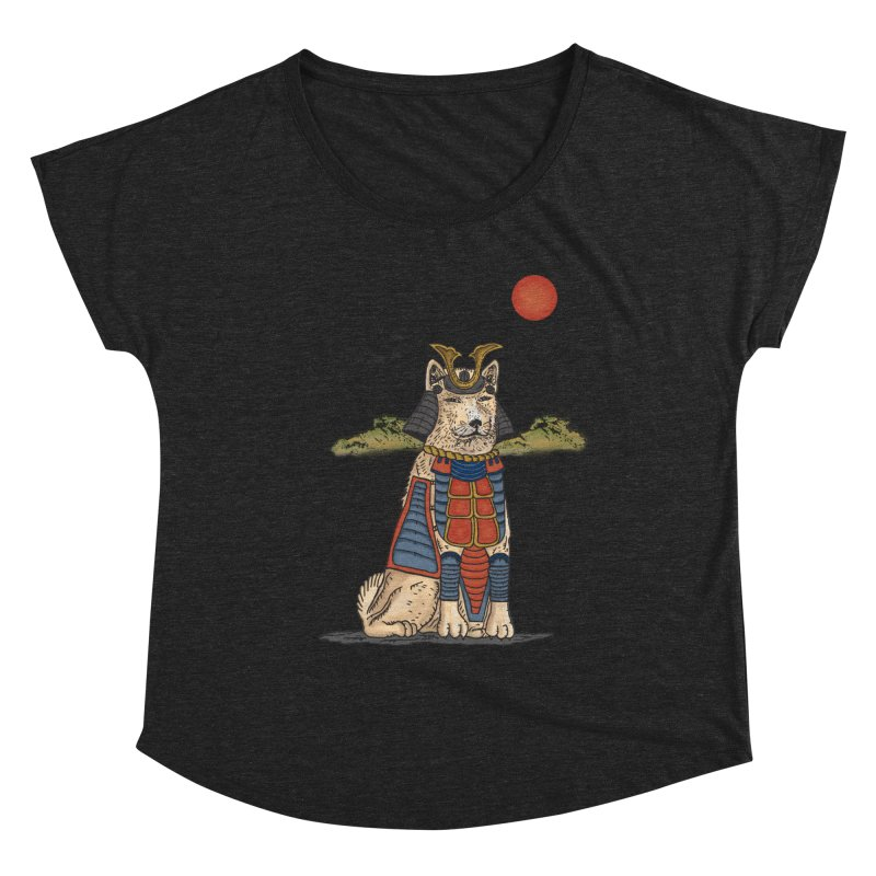 THE DOG WHO CANT BE MOVE Women's Scoop Neck by robbyiodized's Artist Shop