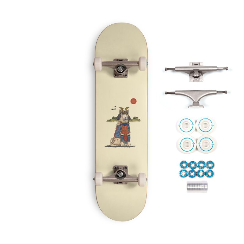 THE DOG WHO CANT BE MOVE Accessories Skateboard by robbyiodized's Artist Shop