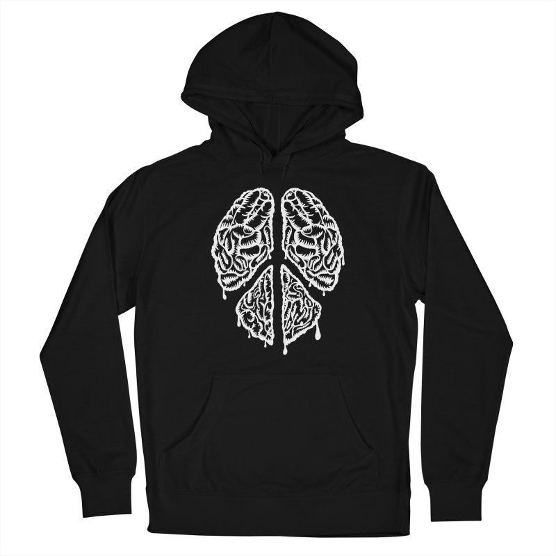 BRAIN PEACE Women's Pullover Hoody by robbyiodized's Artist Shop