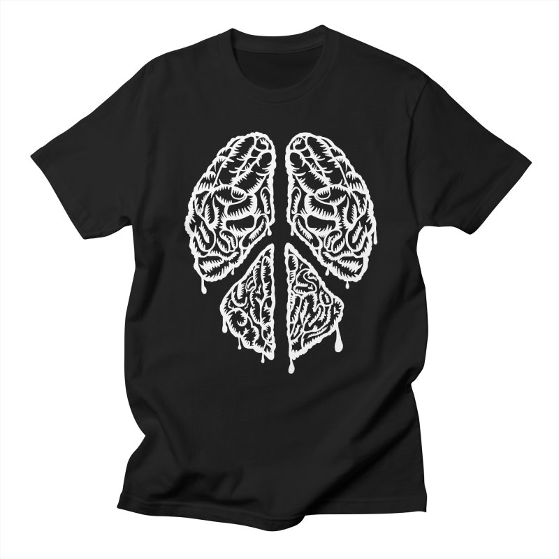 BRAIN PEACE Men's T-Shirt by robbyiodized's Artist Shop