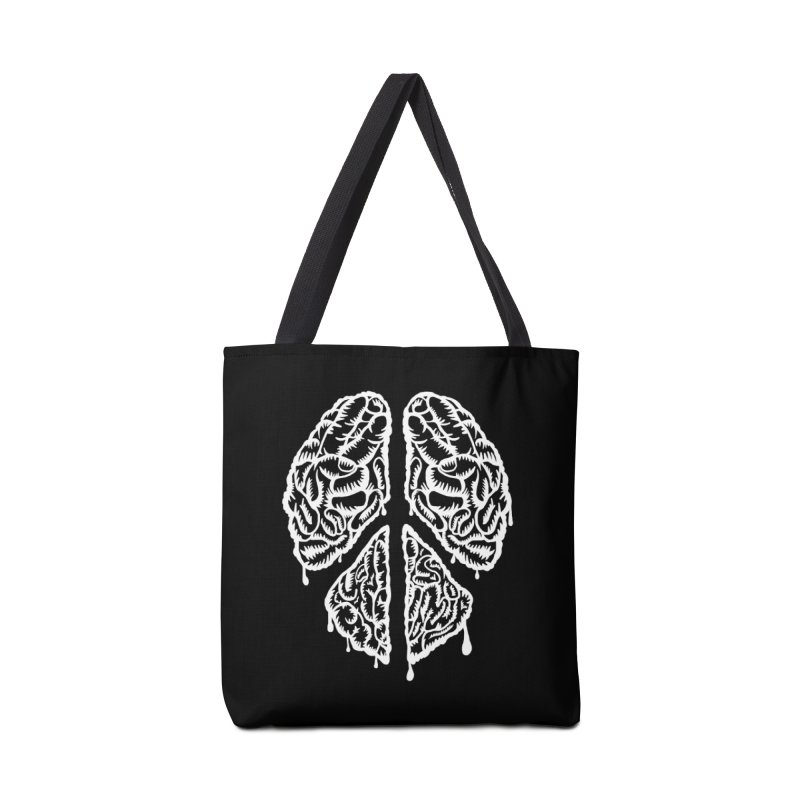 BRAIN PEACE Accessories Bag by robbyiodized's Artist Shop