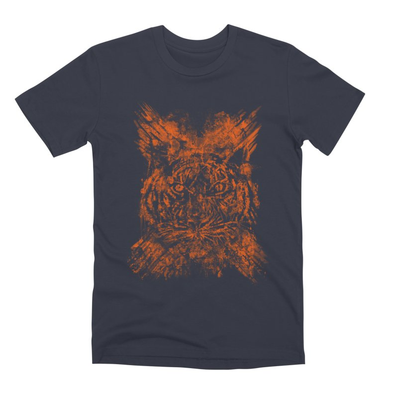 TIGER X Men's T-Shirt by robbyiodized's Artist Shop
