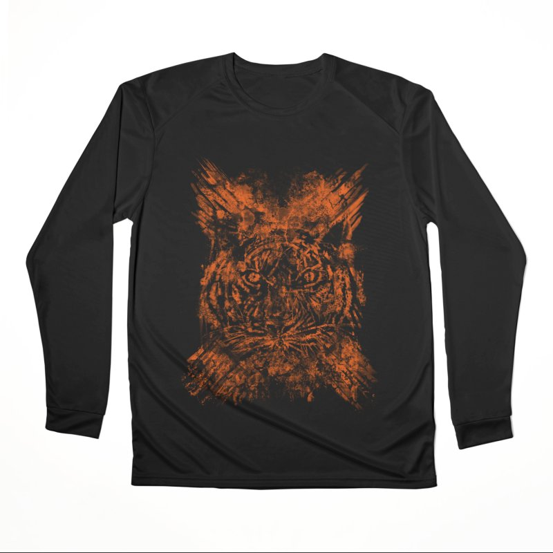 TIGER X Men's Longsleeve T-Shirt by robbyiodized's Artist Shop