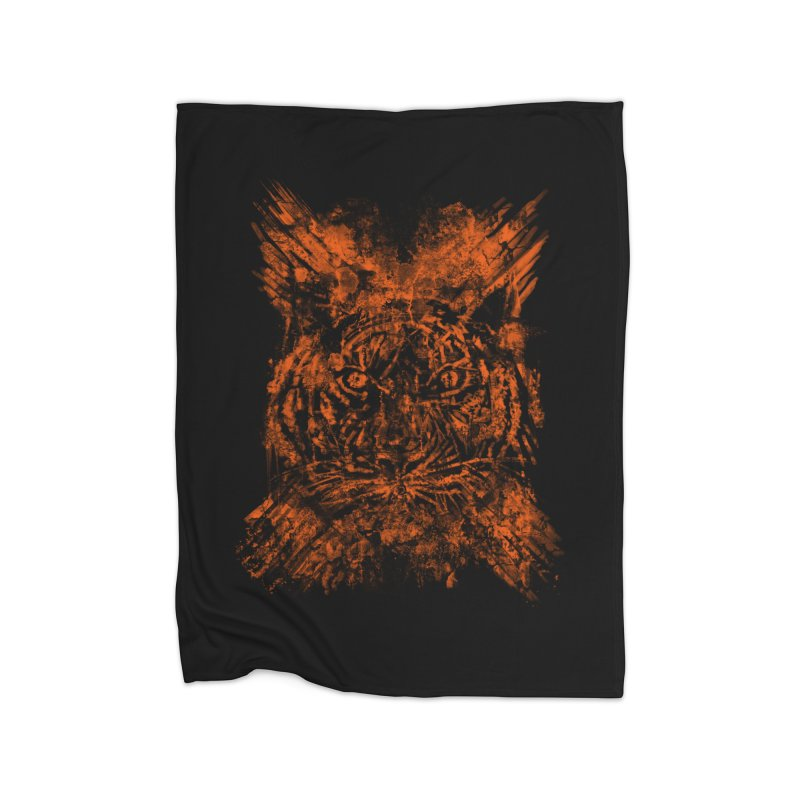 TIGER X Home Blanket by robbyiodized's Artist Shop
