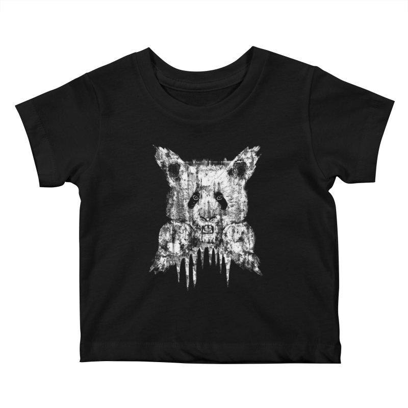 PANDA X Kids Baby T-Shirt by robbyiodized's Artist Shop