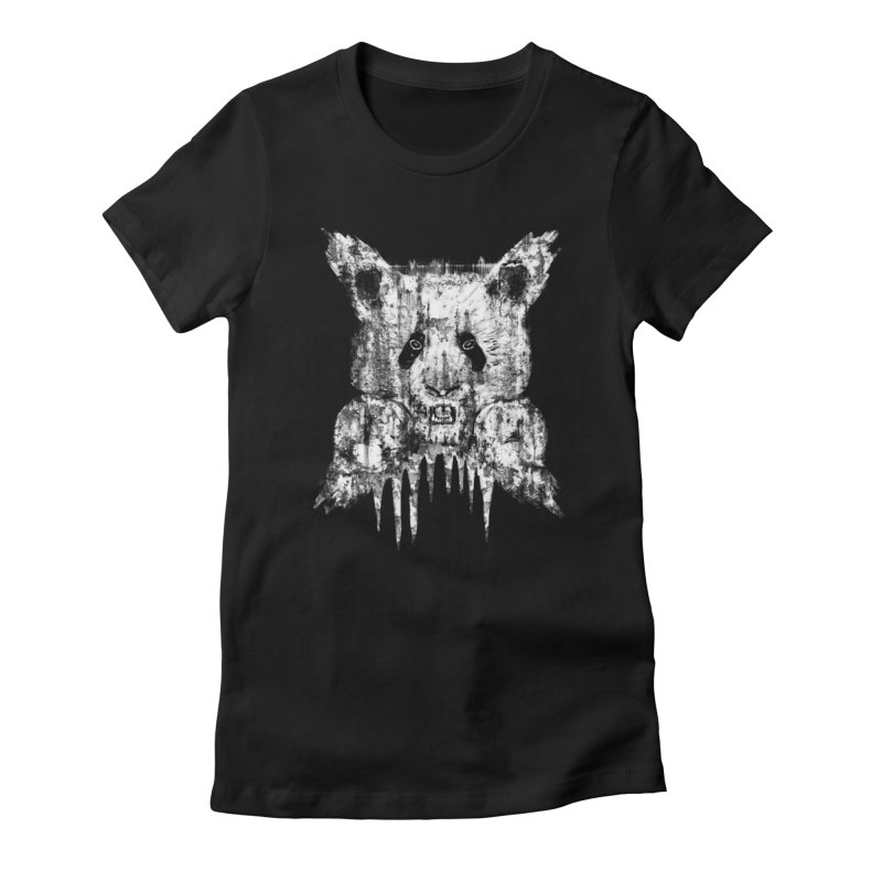 PANDA X Women's T-Shirt by robbyiodized's Artist Shop