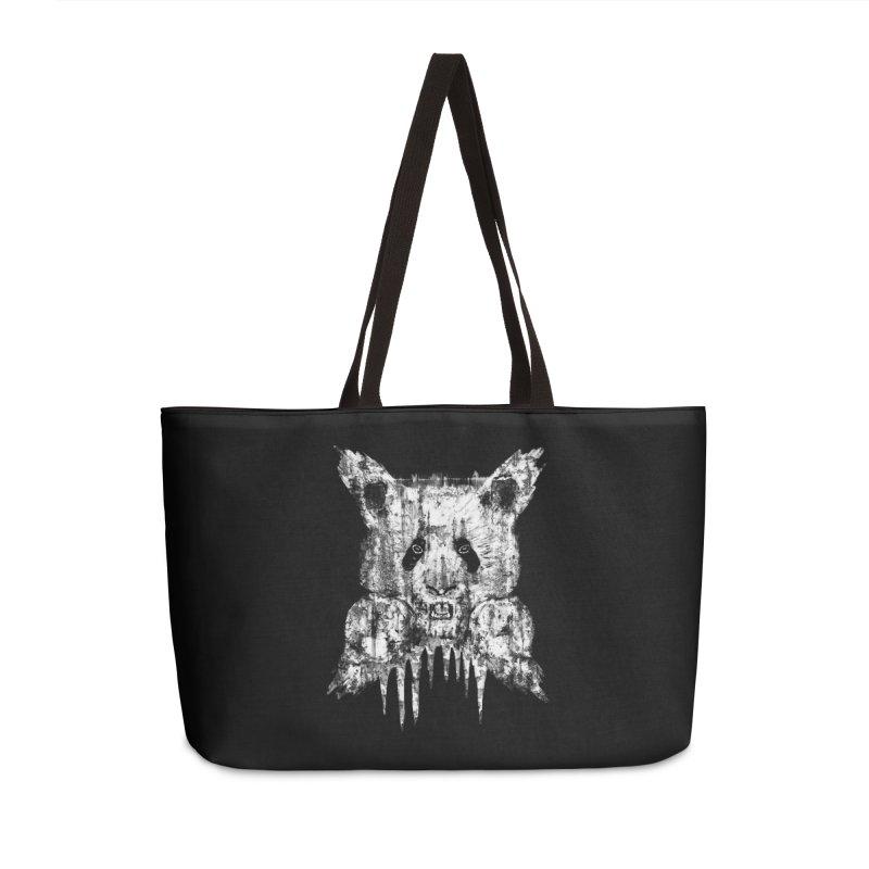 PANDA X Accessories Bag by robbyiodized's Artist Shop