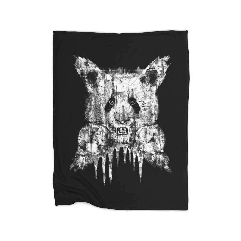 PANDA X Home Blanket by robbyiodized's Artist Shop