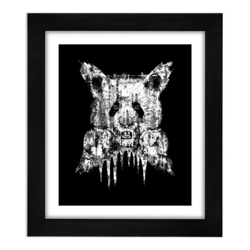 PANDA X Home Framed Fine Art Print by robbyiodized's Artist Shop