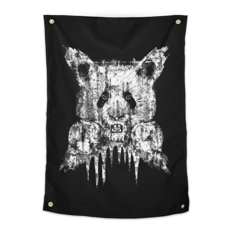 PANDA X Home Tapestry by robbyiodized's Artist Shop