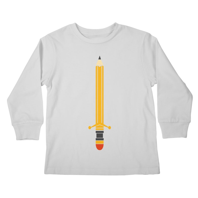 WEAPON OF MASS CREATION Kids Longsleeve T-Shirt by robbyiodized's Artist Shop