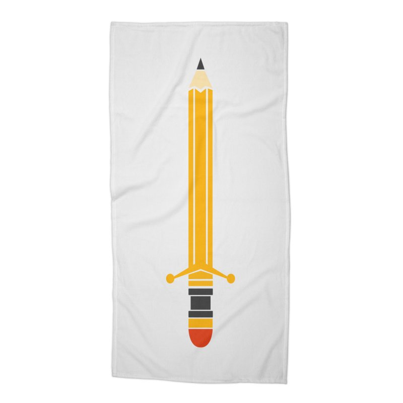 WEAPON OF MASS CREATION Accessories Beach Towel by robbyiodized's Artist Shop