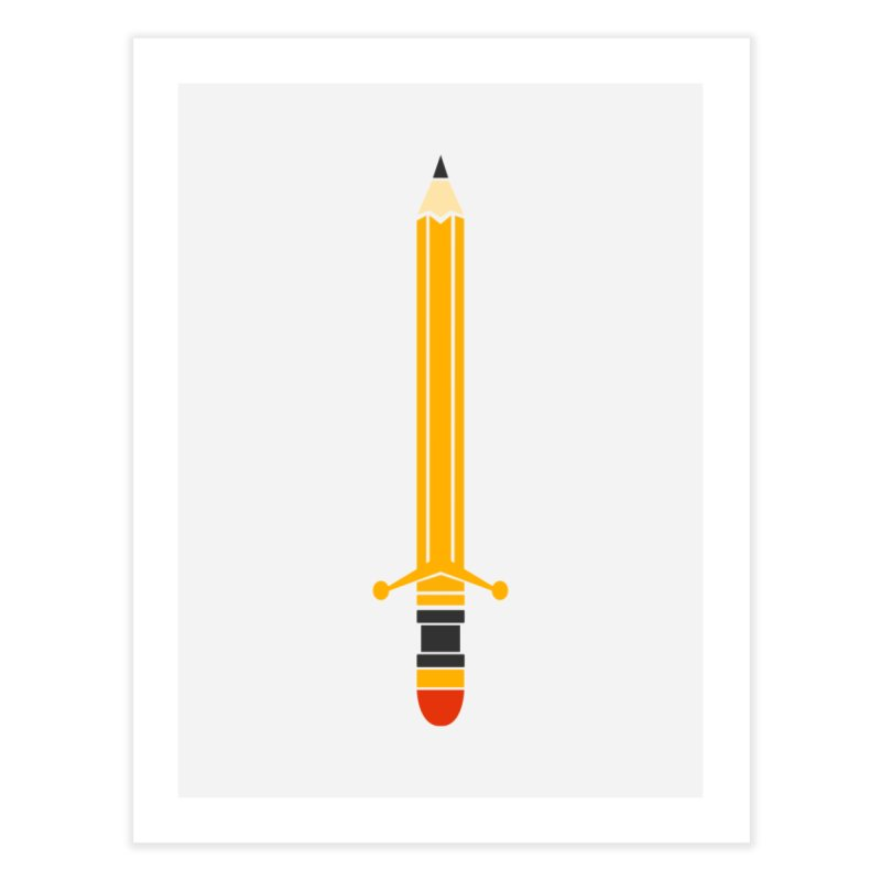 WEAPON OF MASS CREATION Home Fine Art Print by robbyiodized's Artist Shop